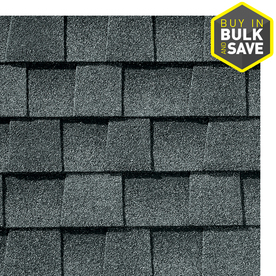 GAF Timberline Natural Shadow 33-sq ft Pewter Gray Laminated Architectural Roof Shingles