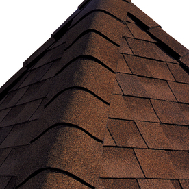 Shop gaf 20 lin ft timbertex sienna sunset laminated hip for Gaf sienna shingles