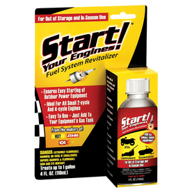 Start Your Engines! 4-oz Fuel Additive