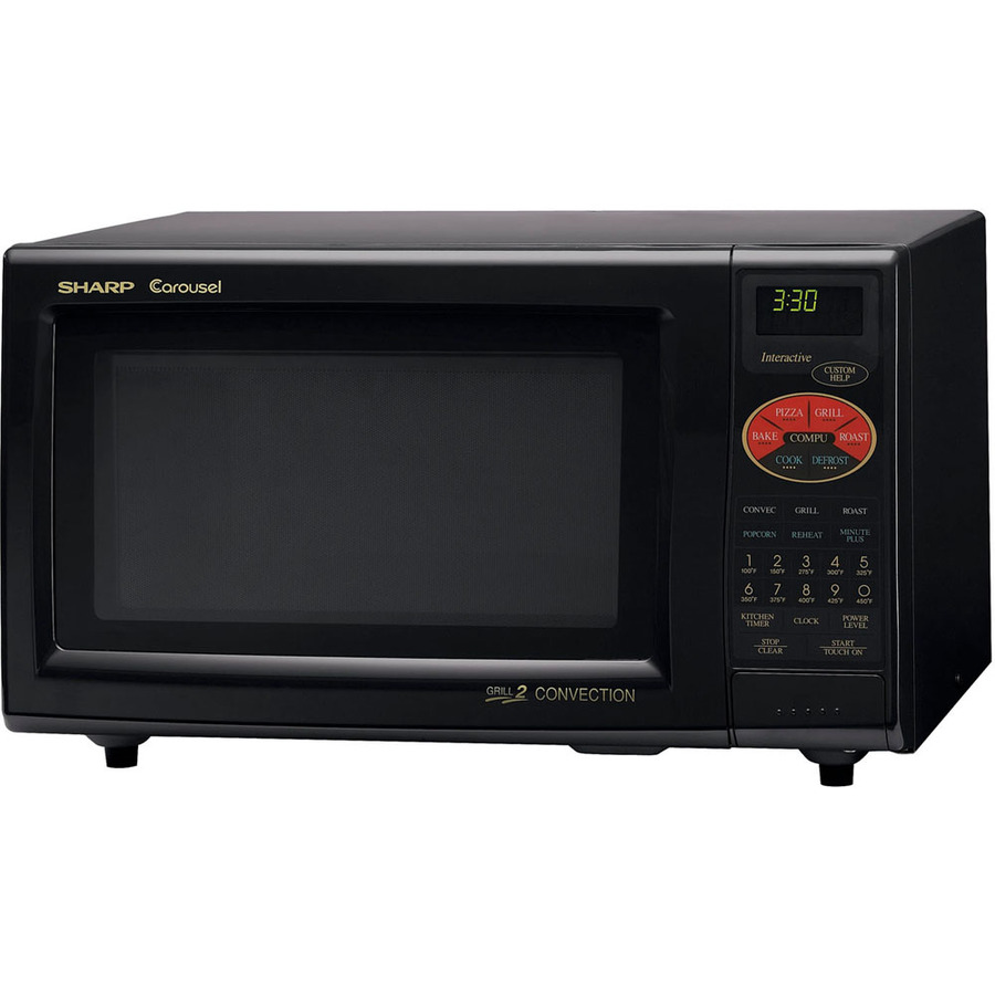 ... cu ft 900-Watt Countertop Convection Microwave (Black) at Lowes.com