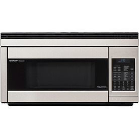 Sharp 1.1 cu ft Over-the-Range Convection Oven Microwave (Stainless Steel) R1874T