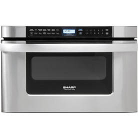 Sharp 1.2-cu ft Microwave Drawer (Stainless Steel) (Common: 24-in; Actual: 23.875-in)