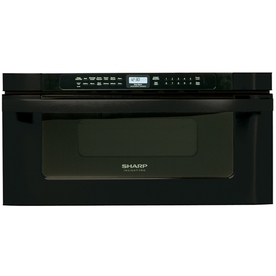 Sharp 30-in 1.2 cu ft Microwave Drawer (Black)