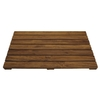 Pollenex Solid Teak Spa Mat