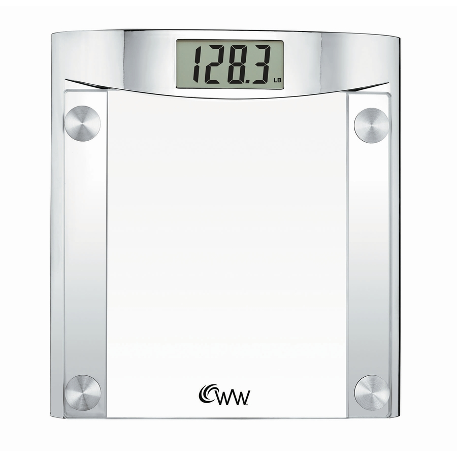 Shop weight watchers clear digital bathroom scale at for Bath room sale
