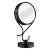 Conair Black Chrome Magnifying Countertop Vanity Mirror with Light