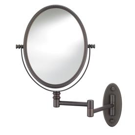 Lowes Use Satin Nickel Conair Oil Rubbed Bronze Bath Mirror Mirrors Bathroom Furniture