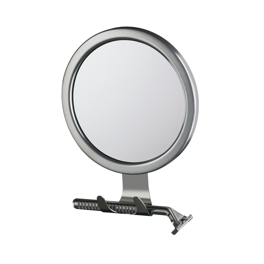Conair Vanity Mirrors Metallic Metal and Glass Wall-Mounted Vanity ...