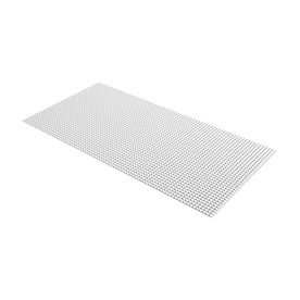 PLASKOLITE 7.85-sq ft Louvered Ceiling Light Panel (Common: 24-in x 48-in; Actual: 47.75-in x 23.75-in)