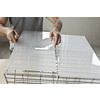 OPTIX 0.08-in x 24-in x 48-in Clear Acrylic Sheet