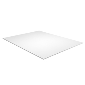 PLASKOLITE 3&#039; x 2&#039;6&#034; White Acrylic Sheet