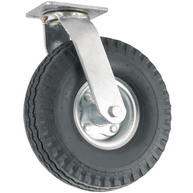 Shop waxman 10 in rubber swivel caster at - Bed casters lowes ...