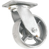 Waxman 5-in Steel Swivel Caster