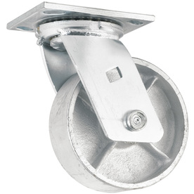 Shop waxman 6 in steel swivel caster at - Bed casters lowes ...