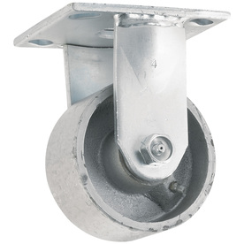 Shop waxman 4 in steel rigid caster at - Bed casters lowes ...