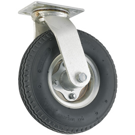 Shop waxman 8 in rubber swivel caster at - Bed casters lowes ...
