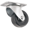 Waxman 2-in Rubber Swivel Caster