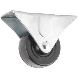 Shop waxman 2 1 2 in rubber rigid caster at - Bed casters lowes ...