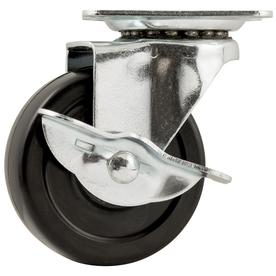 Waxman 3-in Rubber Swivel Caster