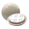Waxman 4-Pack 2-1/8-in Round Adhesive-Backed Carpet Slider