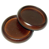 Waxman 4-Pack 2-in Cherry Smooth Round Caster Cups