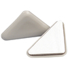 Waxman 4-Pack 2-1/2-in Square Adhesive-Backed Carpet Slider