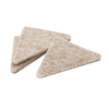 Waxman 8-Pack Triangular Felt Pads