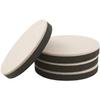 Waxman 16-Pack 3.5-in Round Reusable Felt Hard Surface Slider