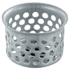 Waxman 1.125-in dia Stainless Steel Strainer Basket Only Sink Strainer