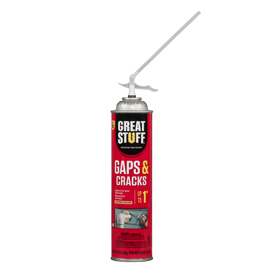 Shop Dow Great Stuff 20 Fl Oz Spray Foam Insulation With Sound Barrier At Low