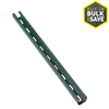 SUPERSTRUT 1-5/8-in x 1-5/8-in Green Paint Half Slot Channel Strut