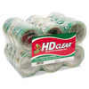 Duck 24-Roll 1.88-in x 165-ft Clear Packing Tape