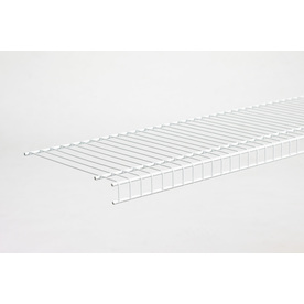 ClosetMaid 4-ft L x 12-in D White Wire Shelf