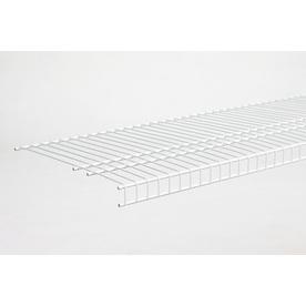 ClosetMaid 6-ft L x 16-in D White Wire Shelf