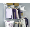 ClosetMaid 4-ft to 6-ft White Adjustable Mount Wire Shelving Kits