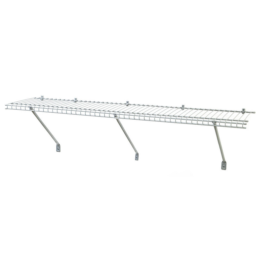 Shop ClosetMaid 48 in Wire Wall Mounted Shelving at Lowescom