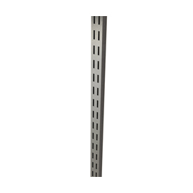 ClosetMaid Satin Chrome Rail (Common: 1-in x 30-in x .625-in; Actual: 1-in x 30-in x .625-in)