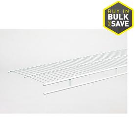 ClosetMaid 12-ft L x 12-in D White Wire Shelf
