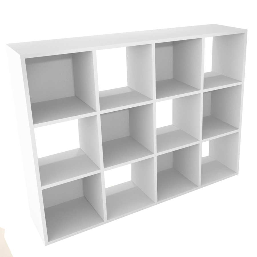 shop closetmaid 12 white laminate storage cubes at. Black Bedroom Furniture Sets. Home Design Ideas