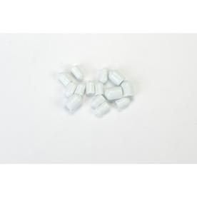 ClosetMaid 20-Pack-in White Round Shelving Hardware