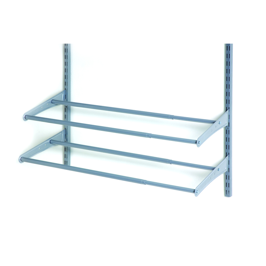 Shop ClosetMaid 41 78 in Wire Wall Mounted Shelving at