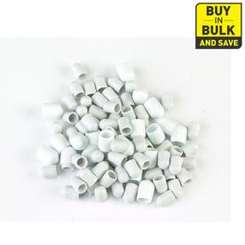 ClosetMaid 24-Pack-in White Rectangle Shelving Hardware