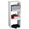 ClosetMaid 12-in White Laminate Stacking Storage