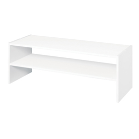 ClosetMaid 31-in White Laminate Stacking Storage