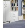 ClosetMaid 24.1-in White Laminate Stacking Storage
