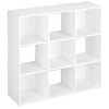 ClosetMaid 9 White Laminate Storage Cubes