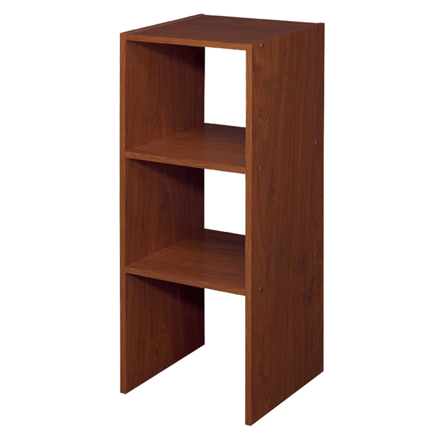 Shop ClosetMaid 12-in Cherry Laminate Stacking Storage at Lowes.com