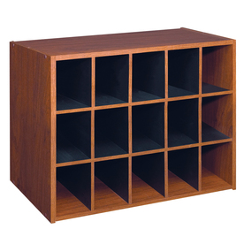 ClosetMaid 15 Cherry Laminate Storage Cubes