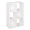ClosetMaid 6 White Laminate Storage Cubes