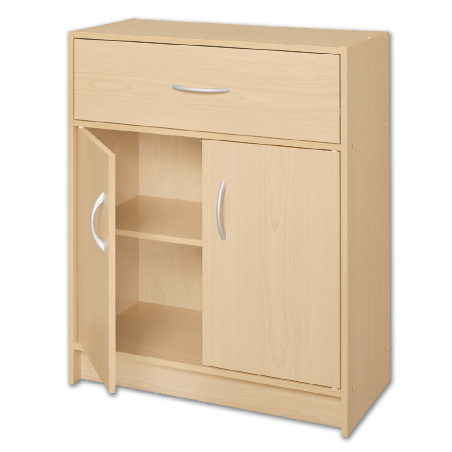 Shop ClosetMaid 2-Door Organizer with Drawer at Lowes.com